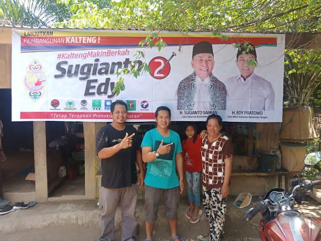 """Relawan """"Kalteng Berkah"""" Barito Utara OTW ke Desa-desa Di Kecamatan Lahei"""