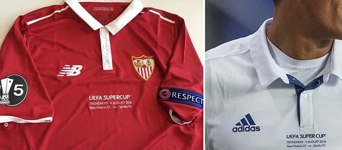 UEFA Detail: Football Teams Shirt And Kits Fan: UEFA Super Cup 2016