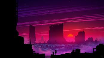 Sci-Fi, Scenery, Sunset, Digital Art, Landscape, 8K, #4.2045