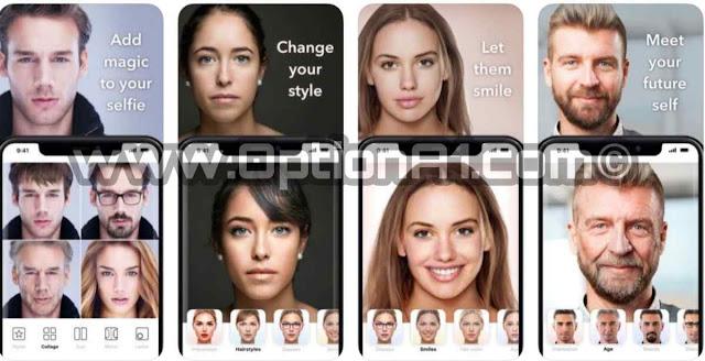 تنزيل تطبيق face app مدفوع  مجانا اخر اصدار Face App Pro