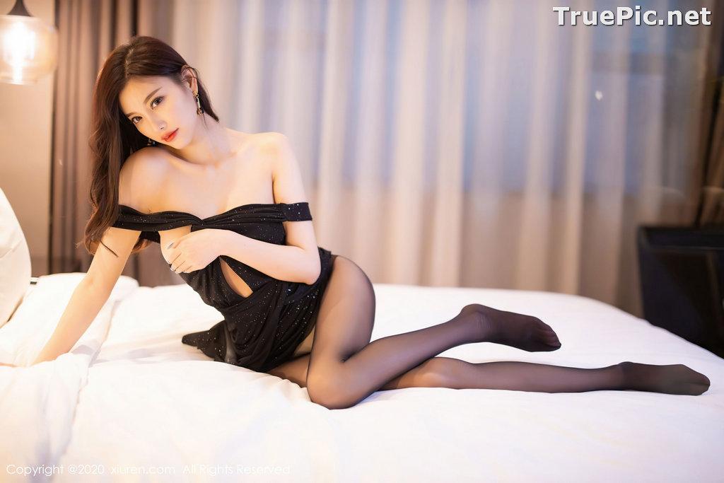 Image XIUREN No.2616 - Chinese Model - Yang Chen Chen (杨晨晨sugar) - Sexy Dark Lady - TruePic.net - Picture-5