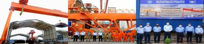 Performance Boost: New 250 Ton Goliath Crane Commissioned At GRSE
