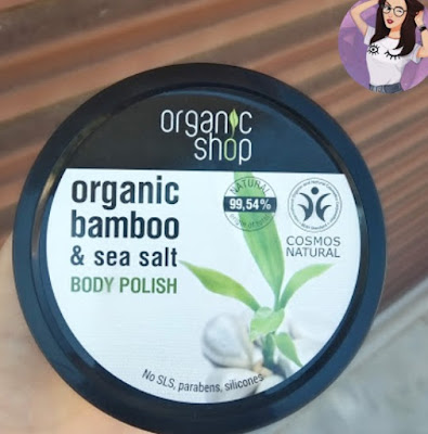 Organic bamboo and Sea salt Body polish