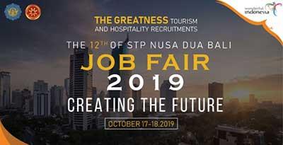Job Fair STP Nusa Dua Bali oktober 2019