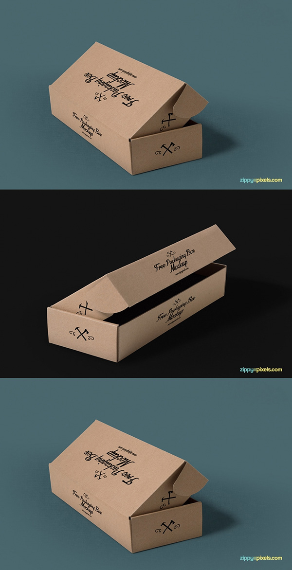 Download Packaging Mockup PSD Terbaru Gratis - 3 Free Packaging Mockups With Customizable Backgrounds