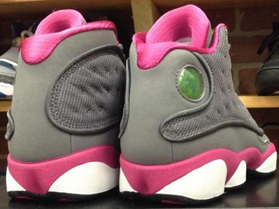 ... france all size 15d4a 9b719 ajordanxi your 1 source for sneaker release  dates girls air jordan ireland air jordan 13 gs cool grey fusion pink white  ... d3eb7efad