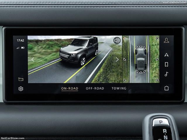 Land Rover Defender 2020 đảm bảo cho người lái cảm giác an toàn tuyệt đối