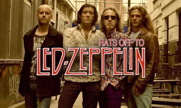 Hats Off to Led Zeppelin: Σάββατο 17 Μαρτίου @ Μέγαρο Μουσικής