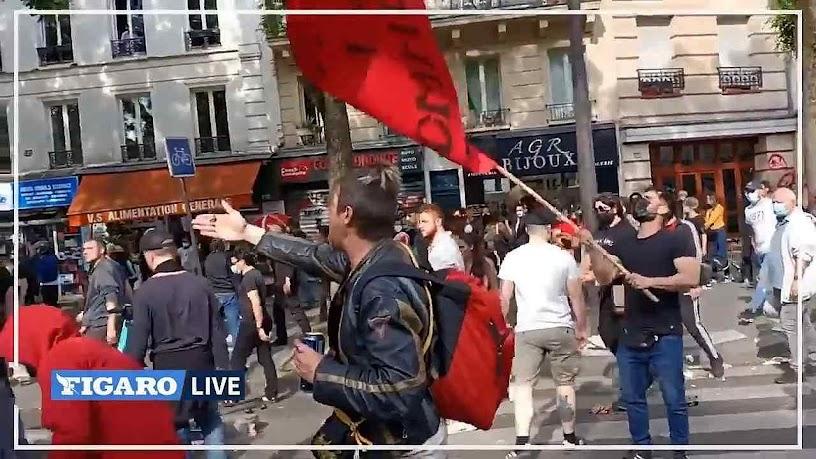 Herdeiros ideológicos da Comuna atacam fiéis em procissão pela alma dos religiosos martirizados em 1871