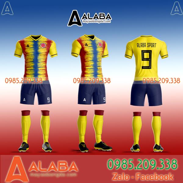 Áo Colombia tự thiết kế đẹp