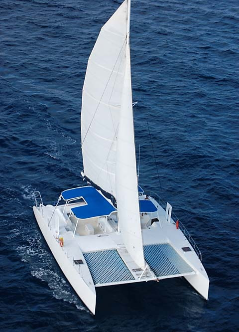 hire a catamaran