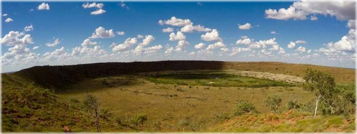nova datação de cratera na Austrália - impactos de asteroides são mais frequentes