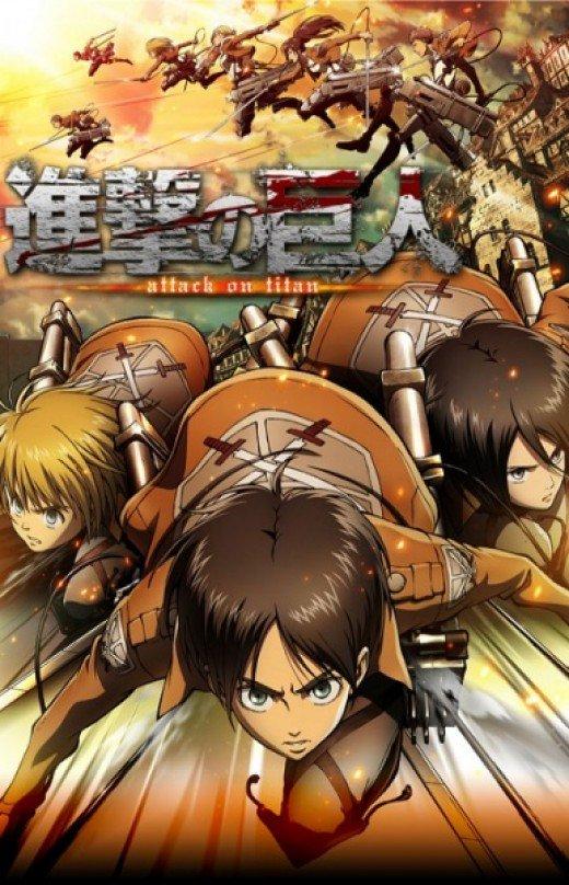 7 Anime Seperti Attack On Titan Shingeki No Kyojin