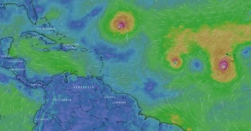 ISAAC: Tormenta tropical se dirige rumbo a Venezuela, Puerto Rico y República Dominicana, informó el Centro Nacional de Huracanes de EE.UU. - NHC