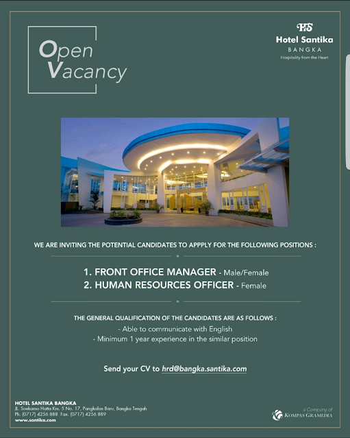 front office manager, human resources manager, hotelandjobs