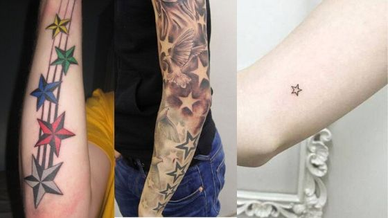 Best Star Tattoos on Arms