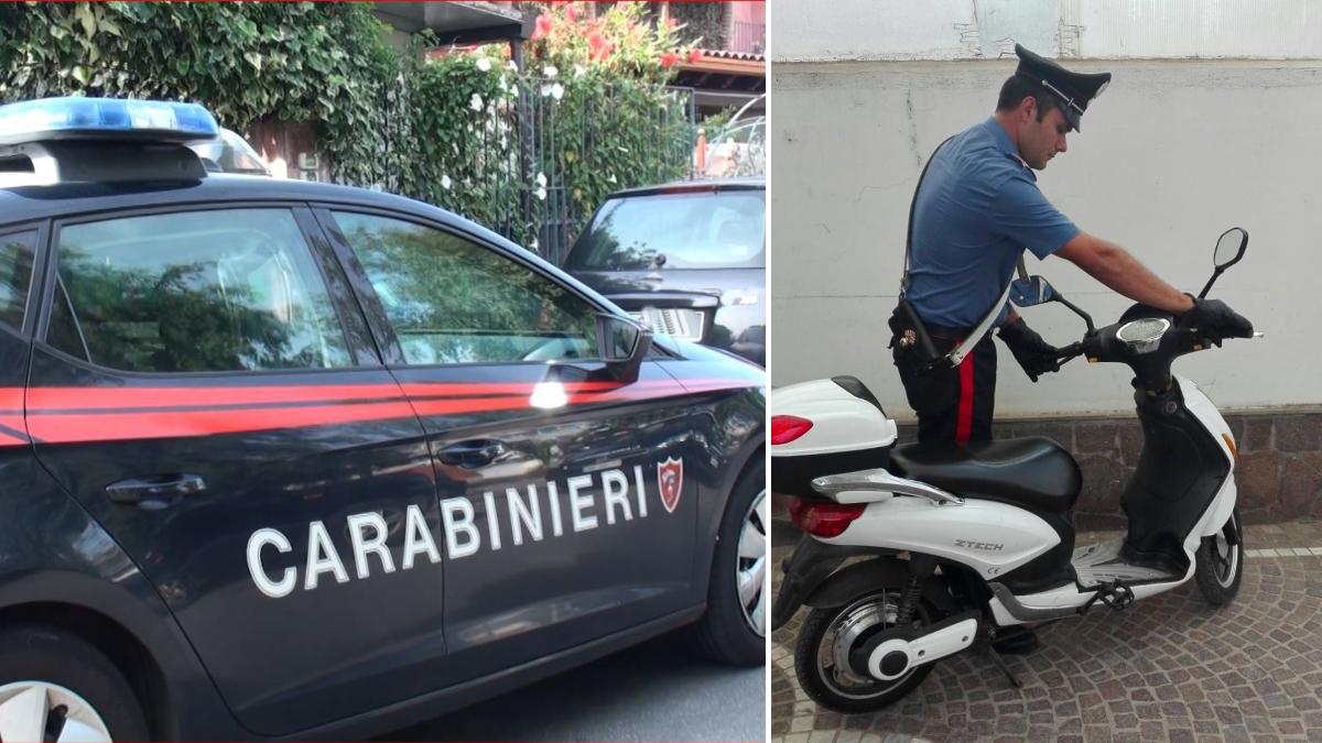 Palagonia Carabinieri minorenne scooter elettrico fugge all'alt