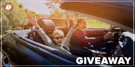 Roadshow by Cnet wants you to enter once for a chance to win $1500 CASH so you can take a road trip anywhere you like, in style!