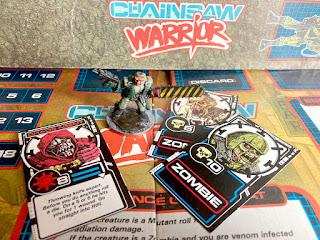Three Bad Guy / Zombie Cards