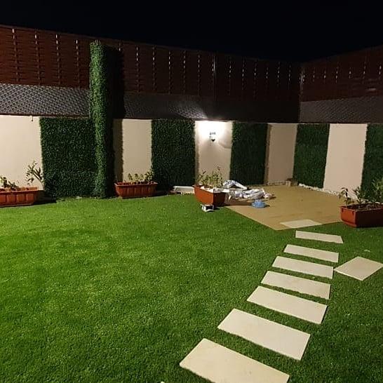 شركة تنجيل الأحواش في جدة بالعشب