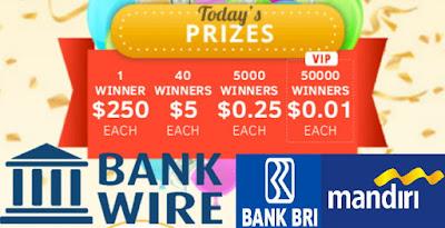 Cara Redeem Dollar Lewat Bank Wire Di Baymack