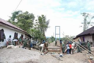 Jembatan Gantung Dusun Sosor taput