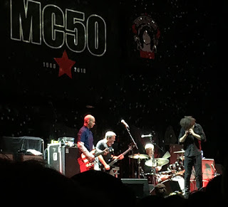 The band MC50 on stage
