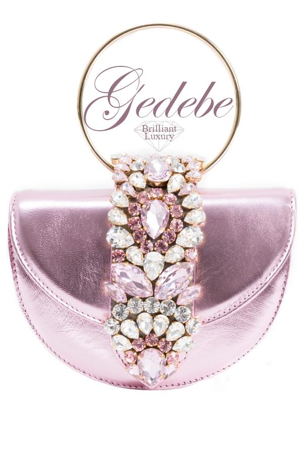 Brilliant-Luxury-Gedebe-Bejeweled-Mini-Brigitte-Nappa-Pink-Metal-Clutch-bags-accessories-2019