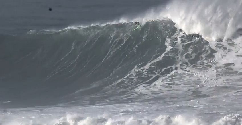 Professional Surfer Garrett McNamara injured at Mavericks