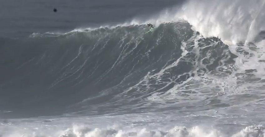 Professional Surfer Garrett McNamara injured at Mavericks