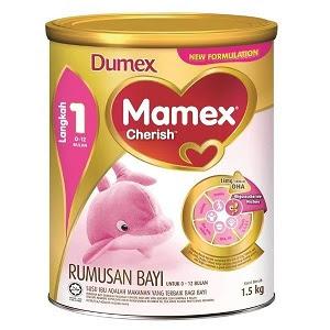 dumex mamex cherish step 1 baby formula milk