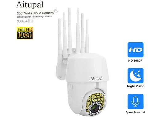 Aitupal 6-Antenna Wireless Security Dome Cameras