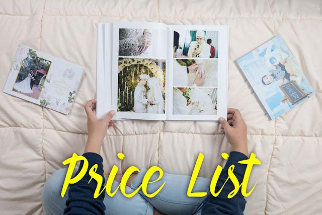 Price List Cetak Photobook Jogja