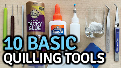 Quilling Tools - Top 10 Basic Tools