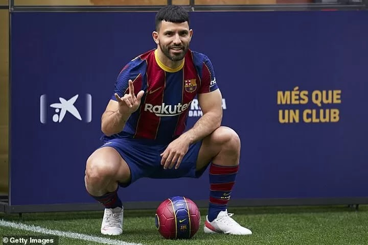 Sergio Aguero 'told by Barcelona he would play supplementary role' when signing from Manchester City