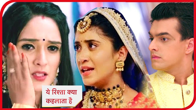Kartik Naira's encounter with Vedika's truth in Yeh Rishta Kya Kehlata Hai