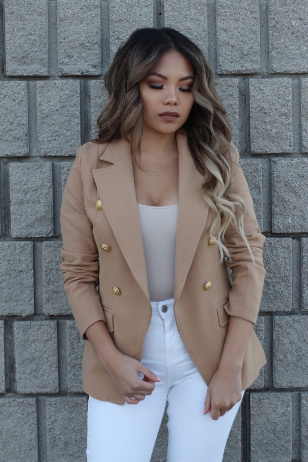 Sending you Nudes: Missguided Blazer
