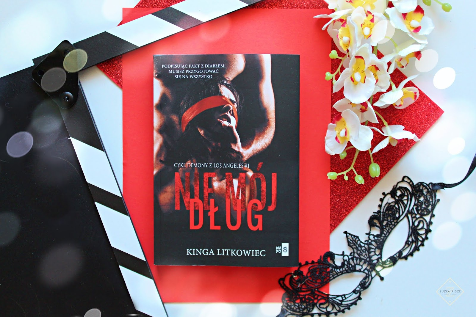 """Kinga Litkowiec """"Nie mój dług"""" - recenzja książki"""