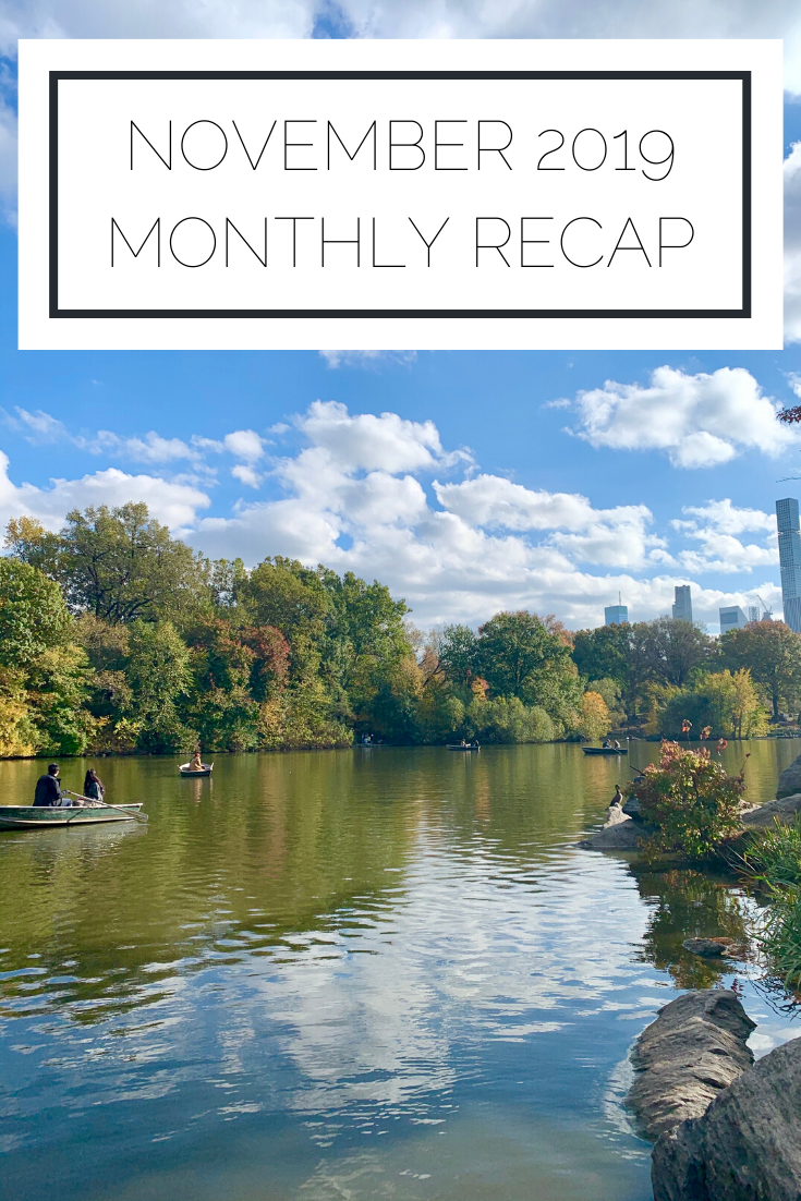 Click to read now or pin to save for later. Check out what I got up to in November in NYC!