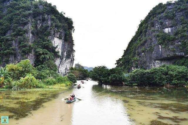 Paseo en barca por Tam Coc, Ninh Binh