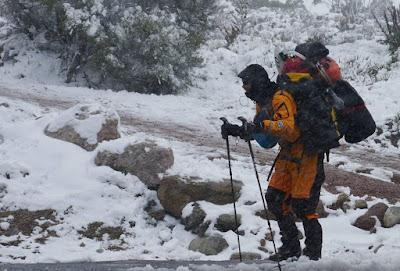 Louis-Philippe Loncke Tasmania Winter Trek 2016