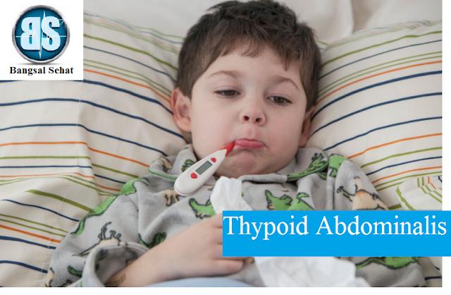 Thypoid abdominalis merupakan suatu penyakit infeksi akut yang disebabkan salmonela thypo Gambaran Klinis atau Tanda Dan Gejala Thypoid Abdominalis