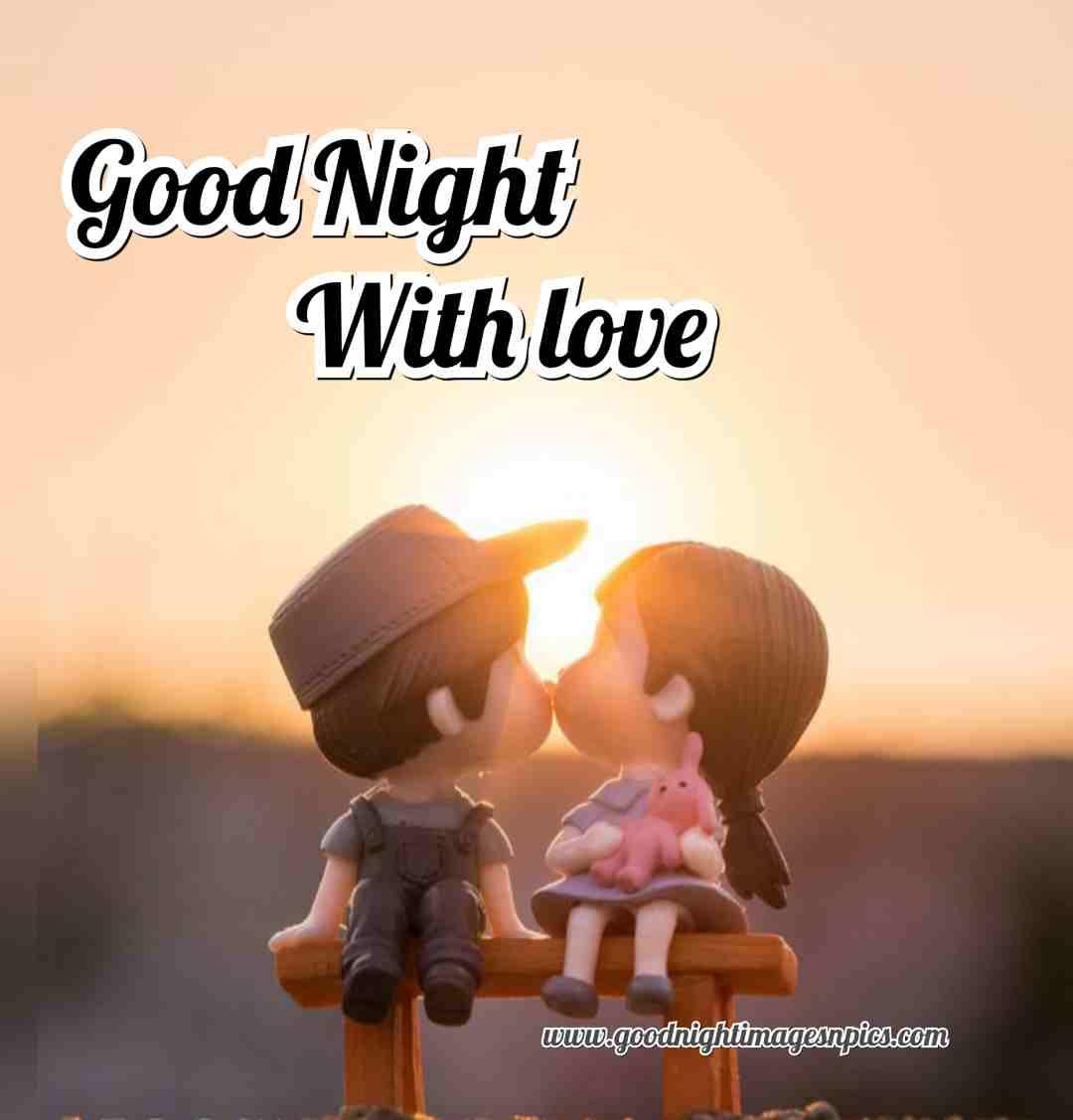 Good night romantic images