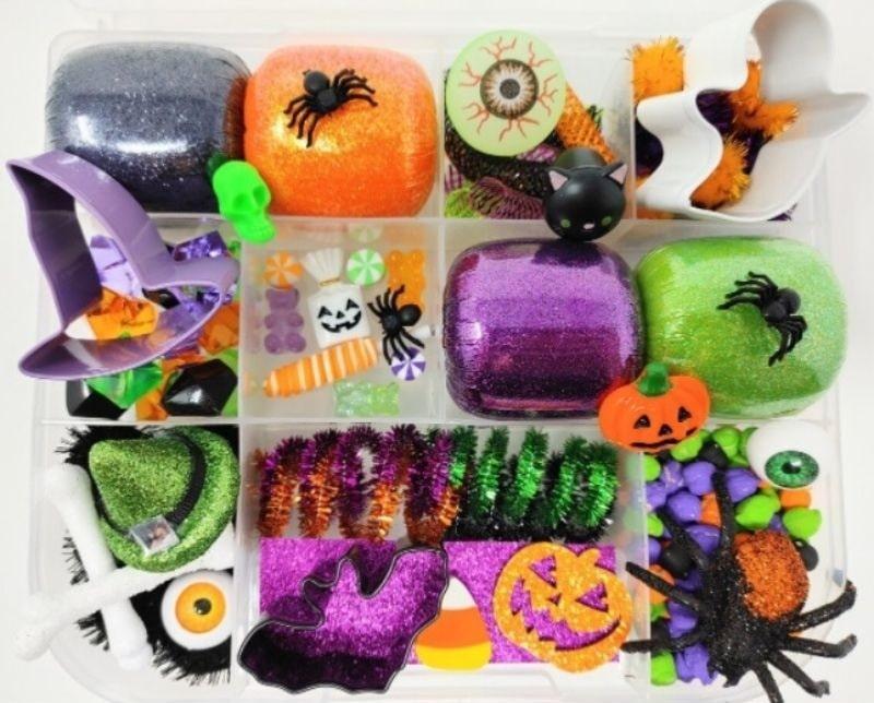 big Halloween sensory kit