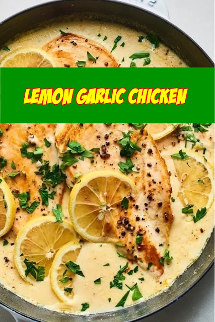 #Lemon #Garlic #Chicken