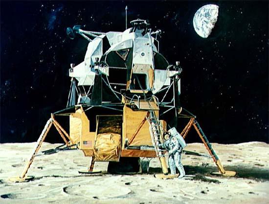 Firmamento Austral: El arte espacial del Apolo.