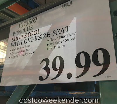Deal for the Winplus Ultra Cusioned Shop Stool at Costco