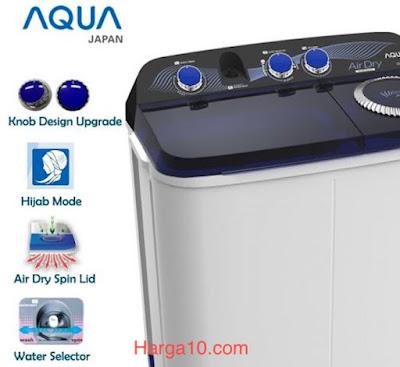 Daftar Harga Mesin Cuci Aqua Low Watt Murah