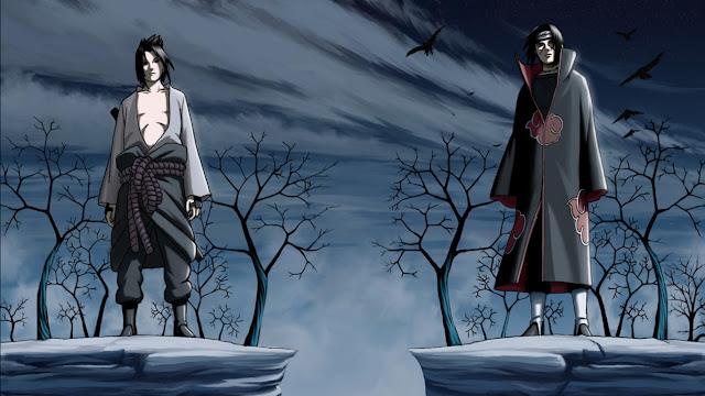 wallpaper uchiha sasuke itachi
