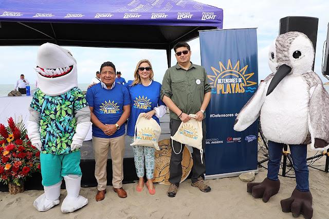 Cervecería Nacional protege las playas de Ecuador